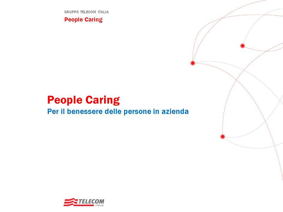 GRUPPO TELECOM ITALIA People Caring People Caring Per il benessere delle persone in azienda