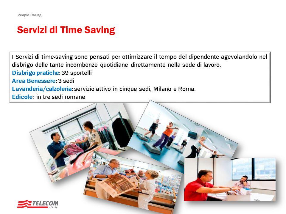 People Caring I Servizi di time-saving sono pensati per ottimizzare il tempo del dipendente agevolandolo nel disbrigo delle tante incombenze quotidiane direttamente nella sede di lavoro.