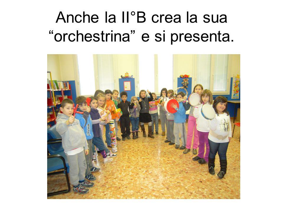 """Anche la II°B crea la sua """"orchestrina"""" e si presenta."""