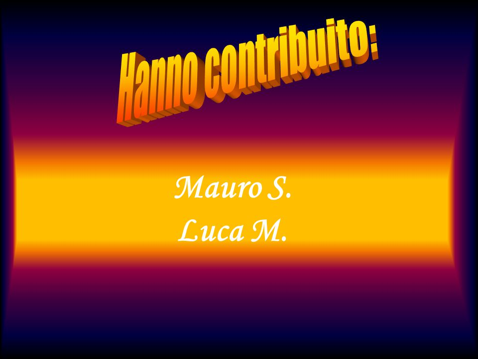 Mauro S. Luca M.