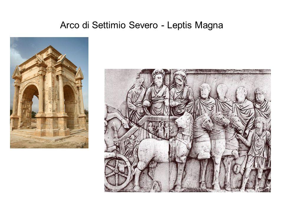 Arco di Settimio Severo - Leptis Magna