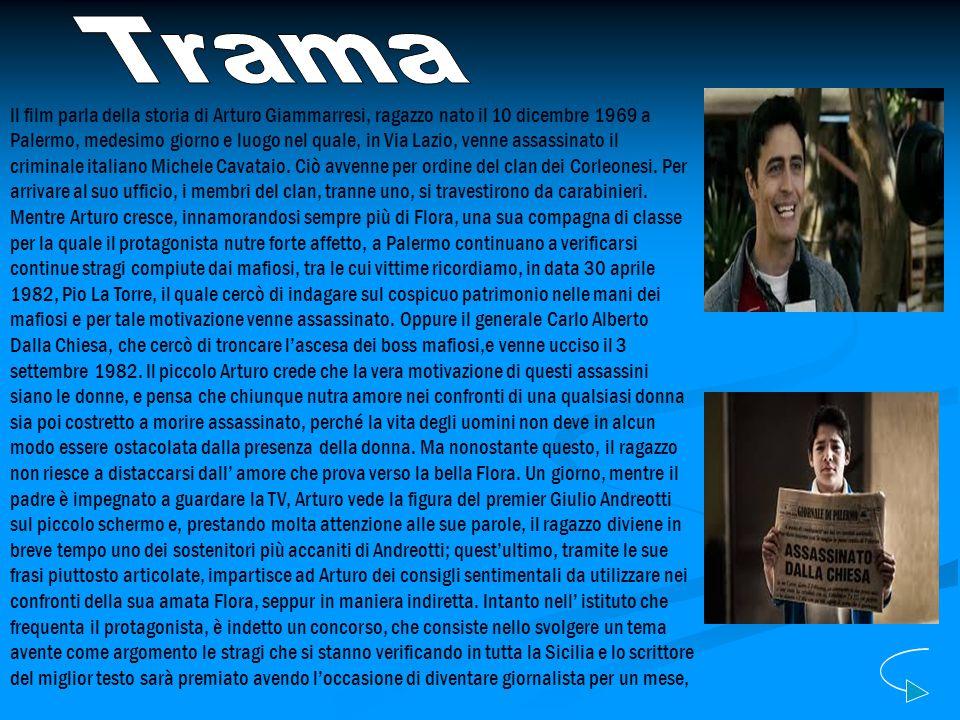 Il film parla della storia di Arturo Giammarresi, ragazzo nato il 10 dicembre 1969 a Palermo, medesimo giorno e luogo nel quale, in Via Lazio, venne a