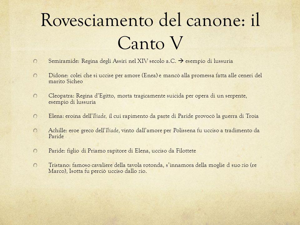 Rovesciamento del canone: il Canto V Semiramide: Regina degli Assiri nel XIV secolo a.C.