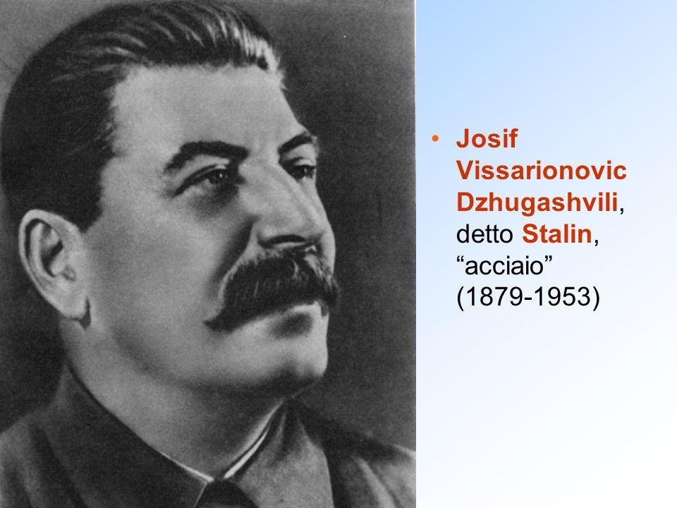 """Josif Vissarionovic Dzhugashvili, detto Stalin, """"acciaio"""" (1879-1953)"""