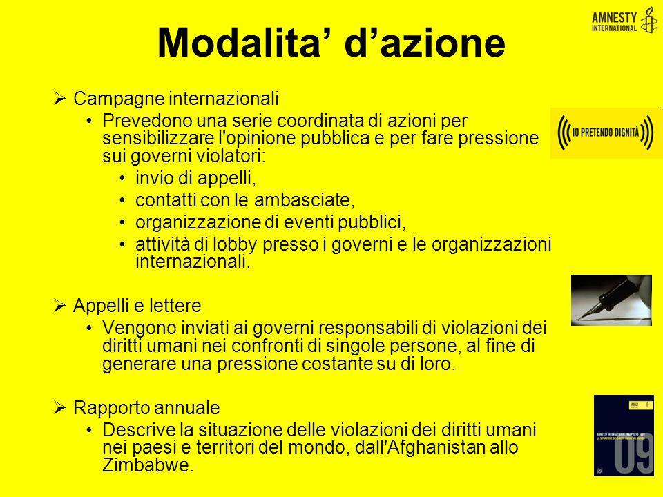 Le Campagne e i Temi … Pena di Morte Diritti migranti e rifugiati Rom LGBT DISCRIMINAZIONE IN EUROPA Donne ((( Io pretendo dignità ))) Minori Tortura Più diritti,più sicurezza