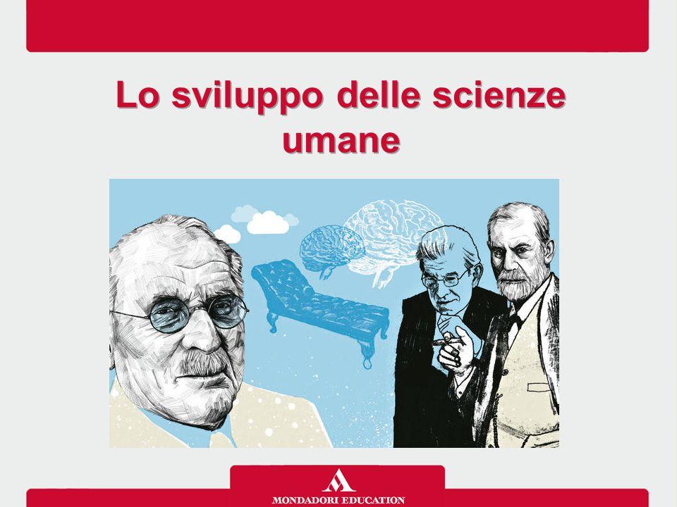 Lo sviluppo delle scienze umane