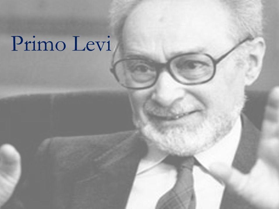 Primo Levi scrisse Se questo è un uomo in tredici mesi, tra dicembre 1945 e gennaio 1947 un po' romanzo, un po' saggio, un po' diario il libro necessario che qualcuno doveva scrivere il testimone e lo scrittore