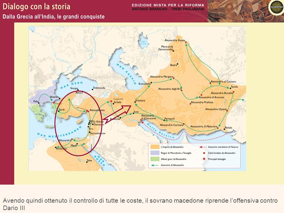 che viene sconfitto e ucciso durante la decisiva battaglia di Gugamela nel 331 a.C.