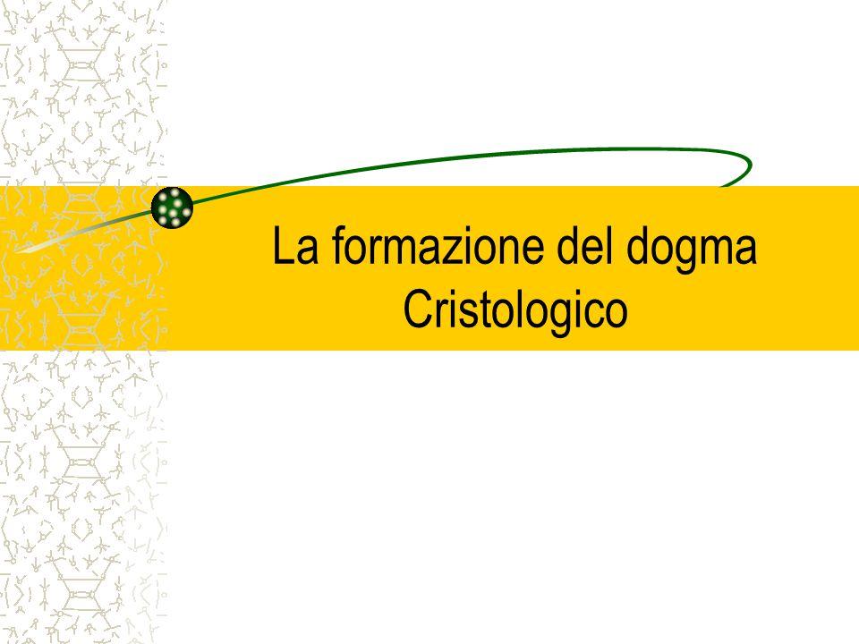 La formazione del dogma Cristologico