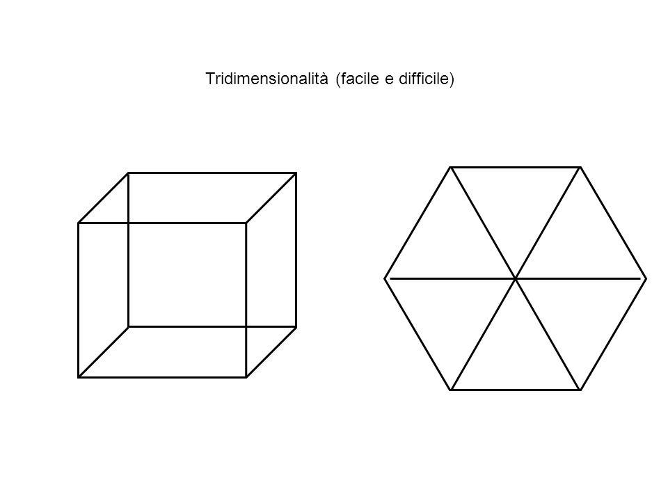 Due cubi? Tridimensionalità (facile e difficile)