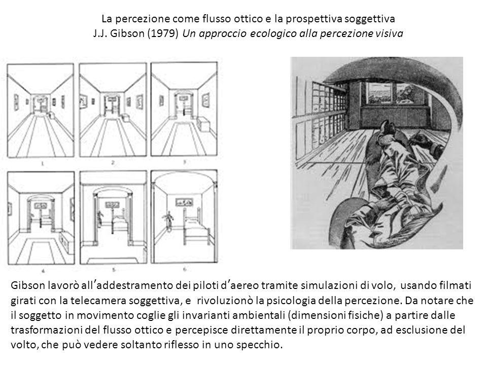 La percezione come flusso ottico e la prospettiva soggettiva J.J.