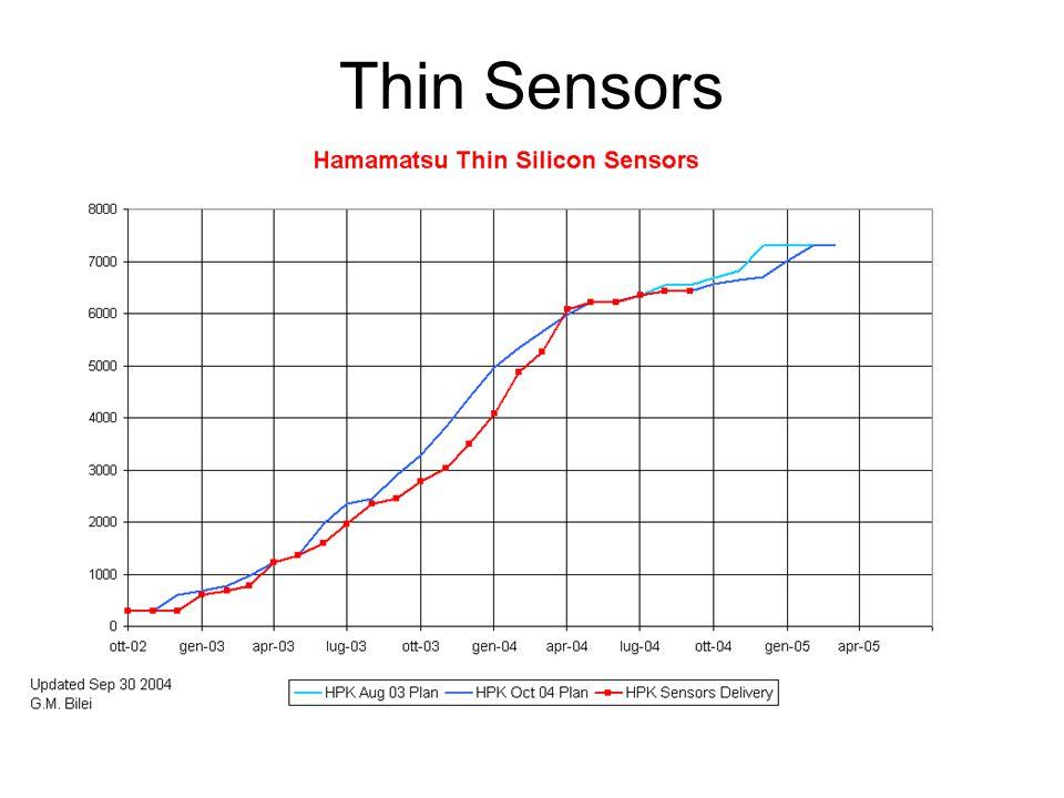 Thin Sensors