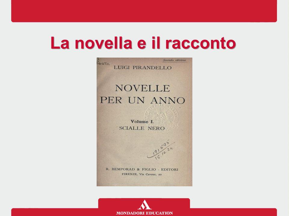 La novella e il racconto