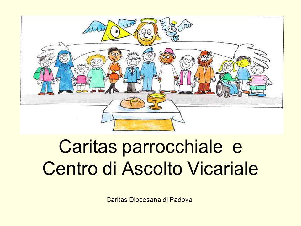 Caritas parrocchiale e Centro di Ascolto Vicariale Caritas Diocesana di Padova