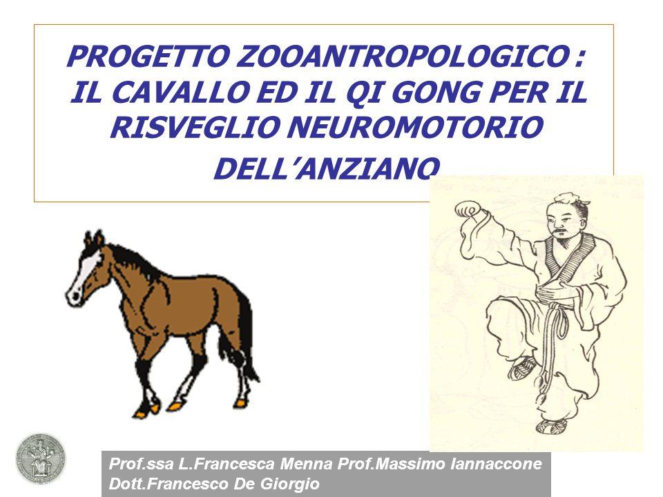 I cavalli come metafora nello sviluppo e nel recupero di sensazioni e percezioni perse nel tempo Perche'IL CAVALLO?