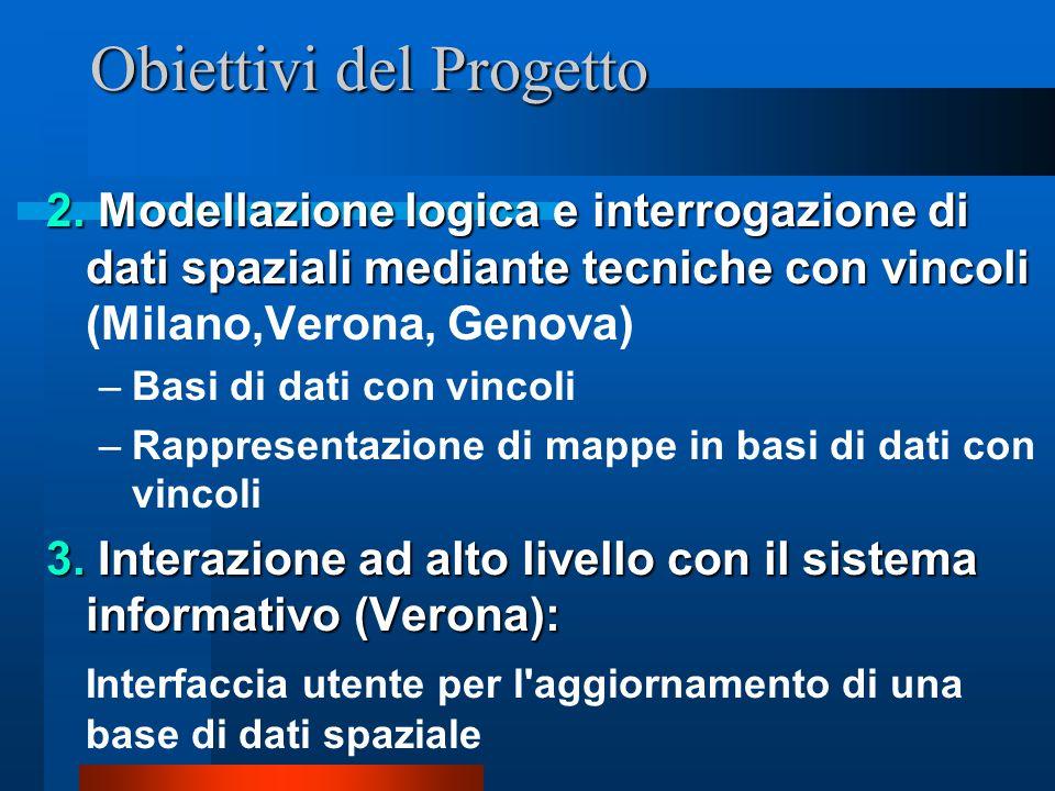 Obiettivi del Progetto 2.