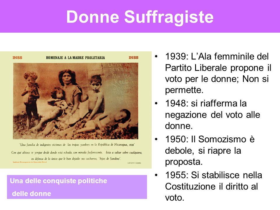 Donne Suffragiste 1939: L'Ala femminile del Partito Liberale propone il voto per le donne; Non si permette. 1948: si riafferma la negazione del voto a