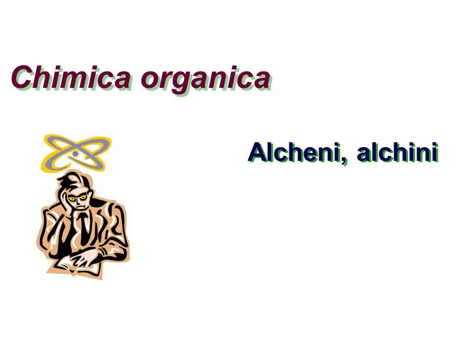 Una panoramica I più semplici composti organici sono gli idrocarburi formati da carbonio e idrogeno IdrocarburiSaturiInsaturiApertiCiclici AlcaniXX CicloalcaniXX AlcheniXX AlchiniXX AromaticiXX Di e polieniXX Alcheni Alchini
