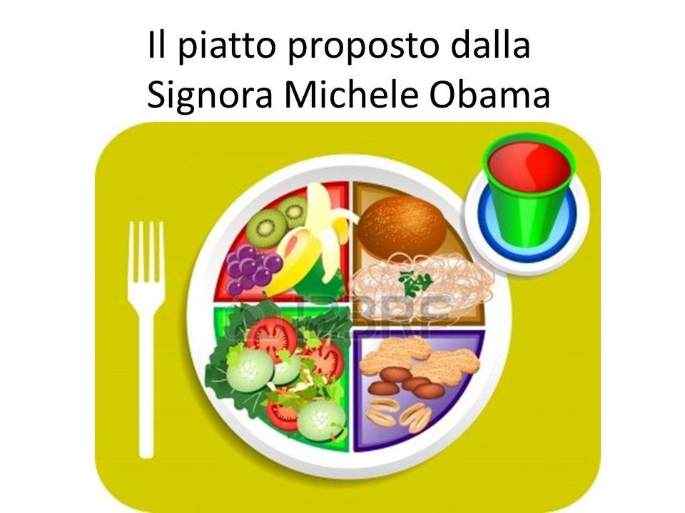 Il piatto proposto dalla Signora Michele Obama