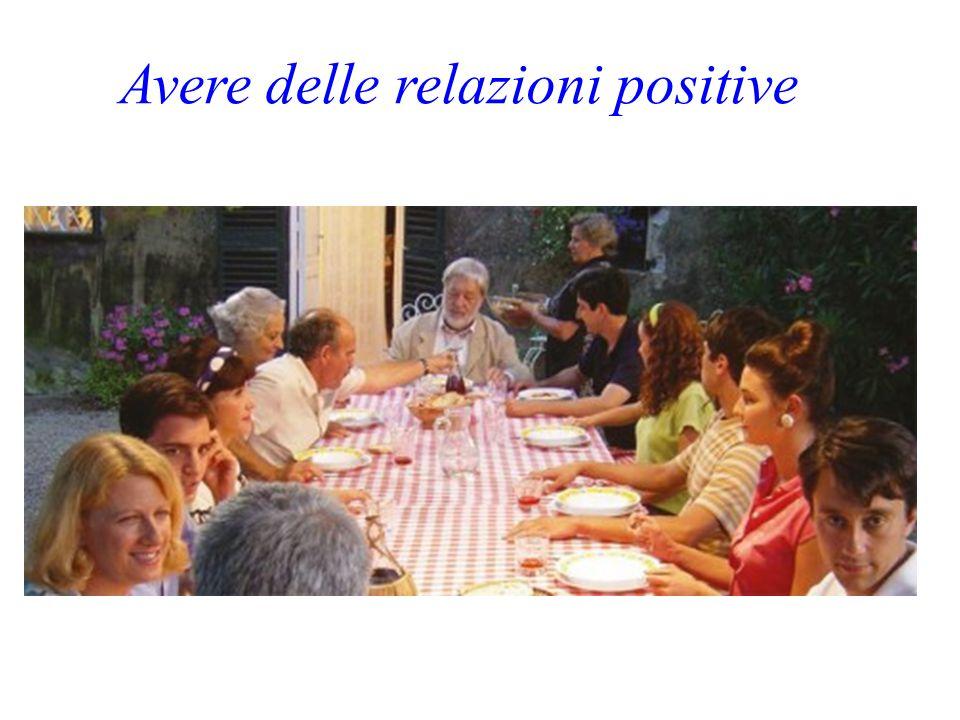 Avere delle relazioni positive