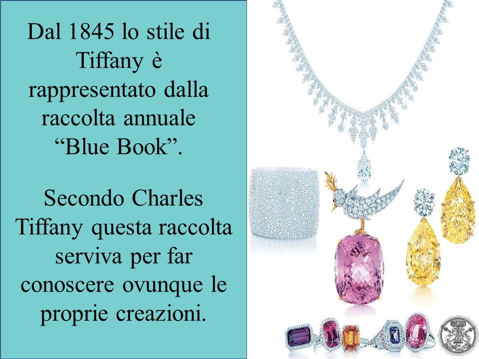 Secondo Charles Tiffany questa raccolta serviva per far conoscere ovunque le proprie creazioni. Dal 1845 lo stile di Tiffany è rappresentato dalla rac