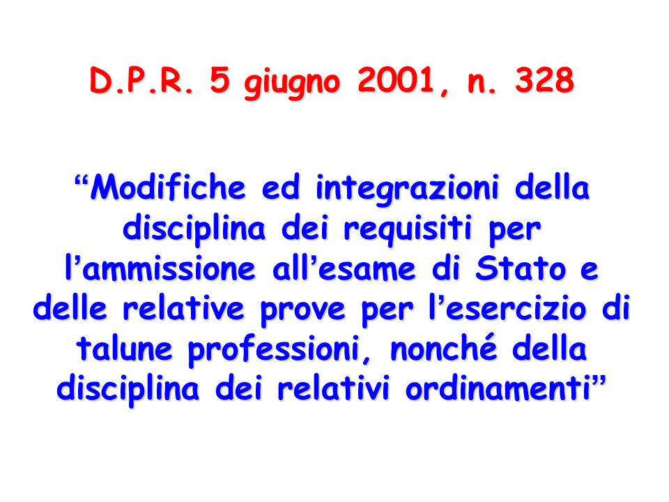 D.P.R.5 giugno 2001, n.