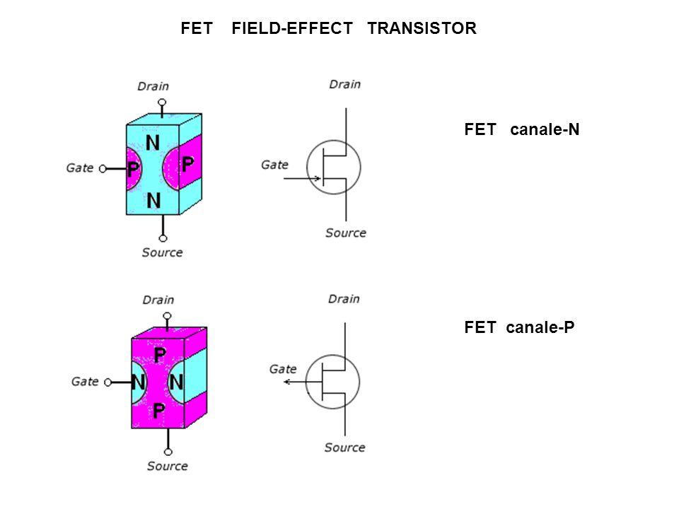 FET FIELD-EFFECT TRANSISTOR FET canale-N FET canale-P