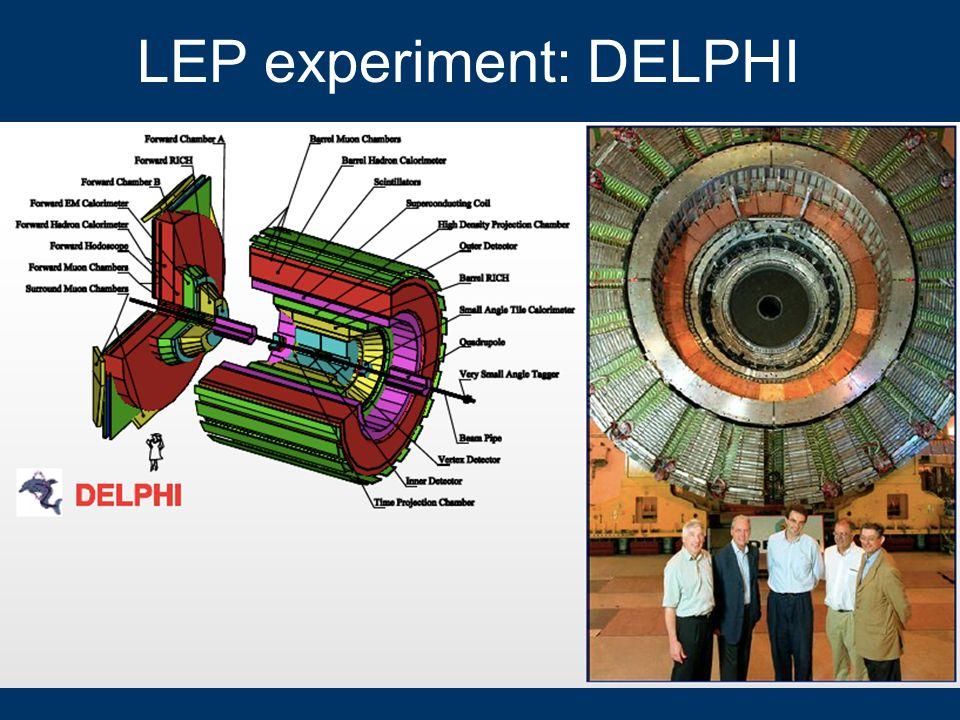 LEP experiment: DELPHI 13