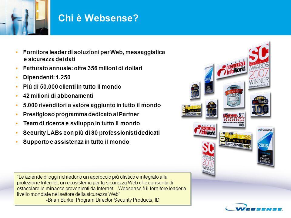 Chi è Websense.
