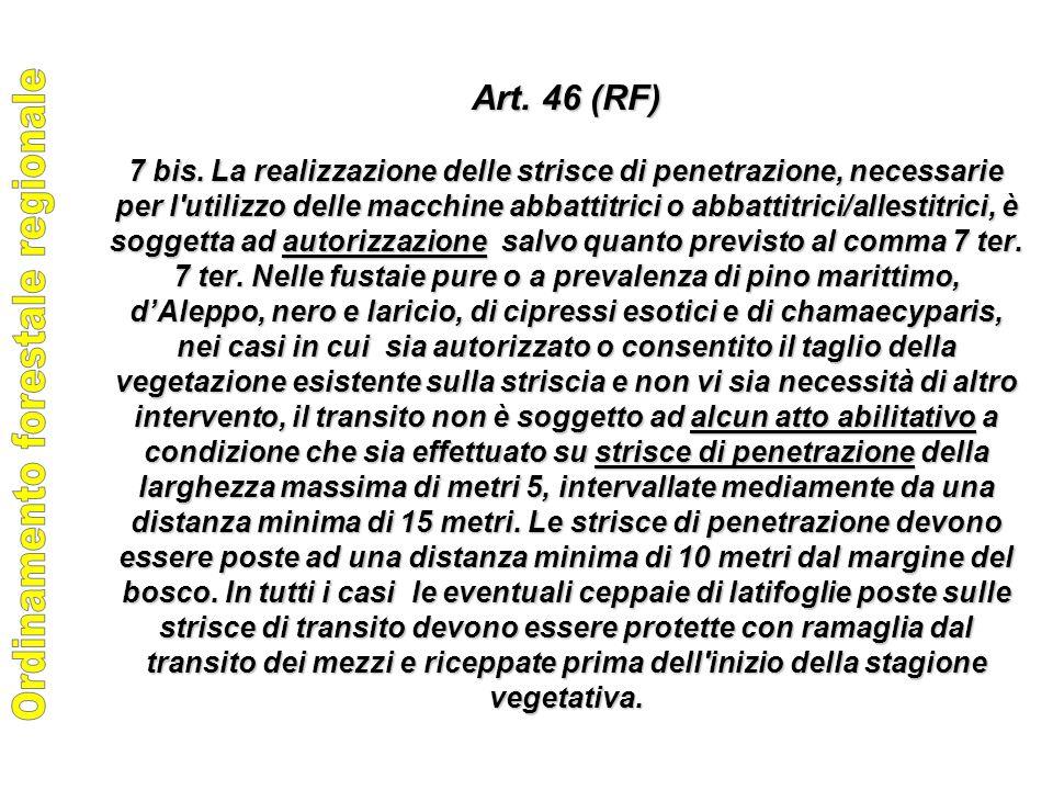 Art. 46 (RF) 7 bis.