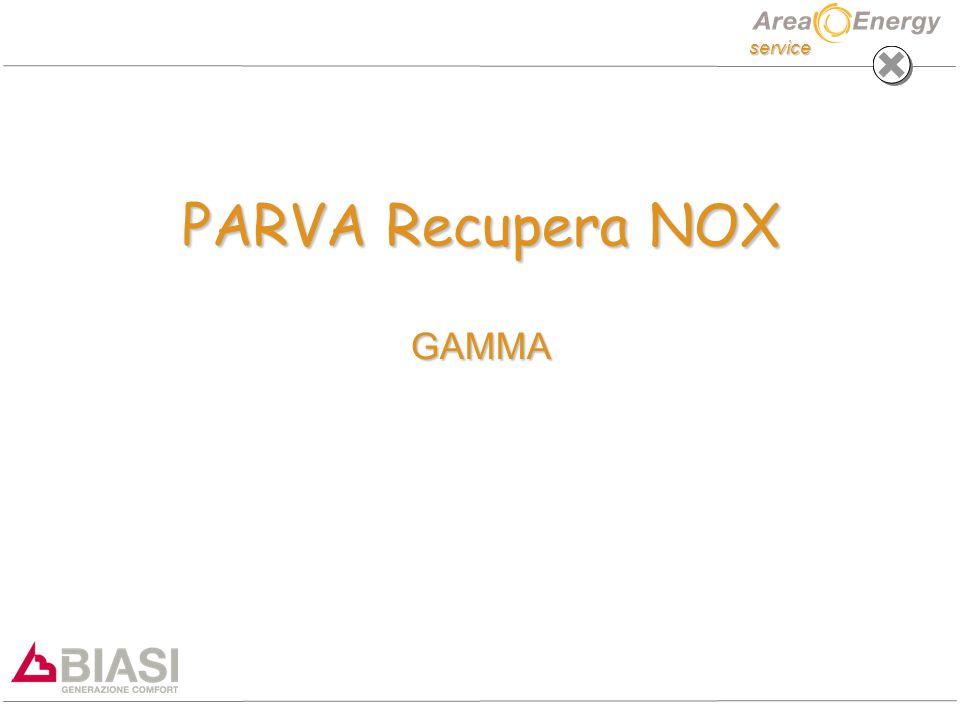 service PARVA Recupera NOX GAMMA