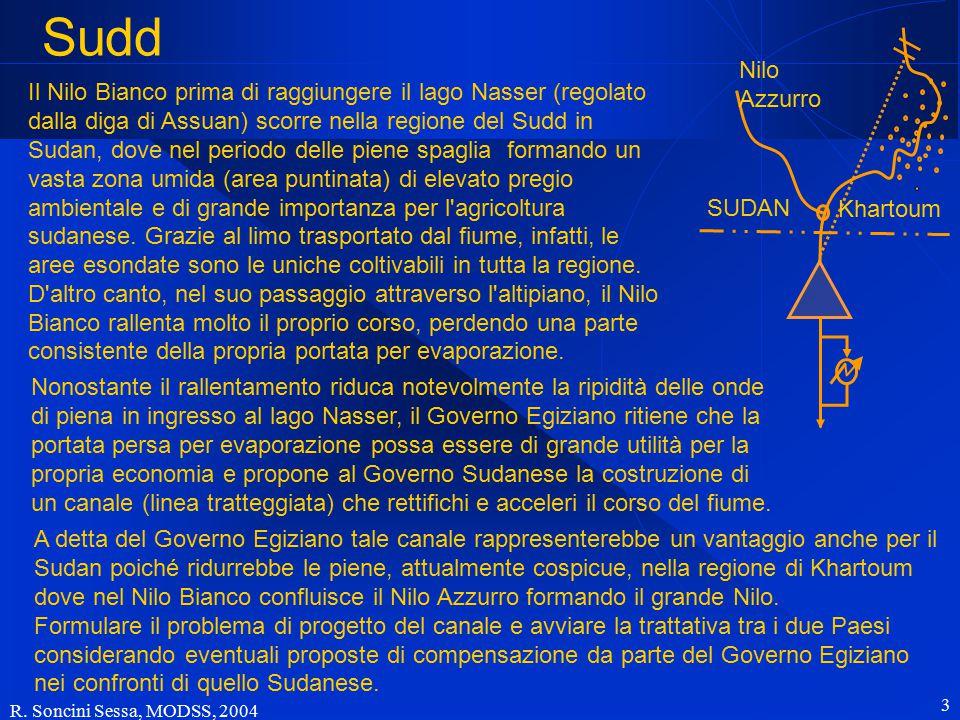 R. Soncini Sessa, MODSS, 2004 4 Sudd SUDAN Nilo Azzurro Khartoum