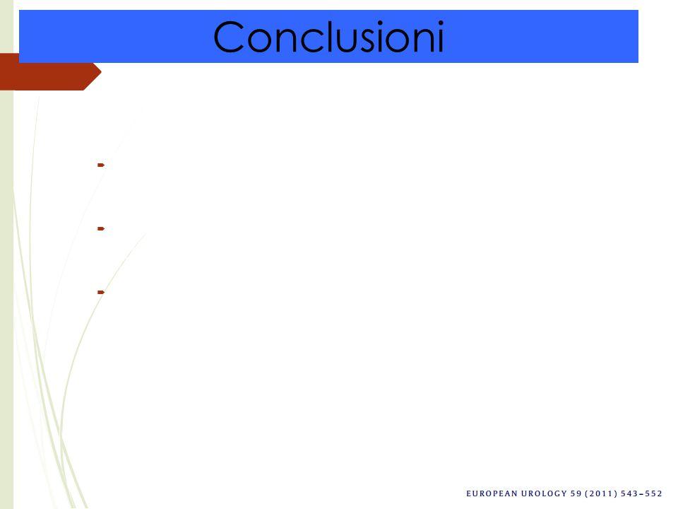 Conclusioni  Sia la NR che la NP presentano dei buoni risultati da un punto di vista oncologico  La OS è a favore della NR anche se non c'è una sign