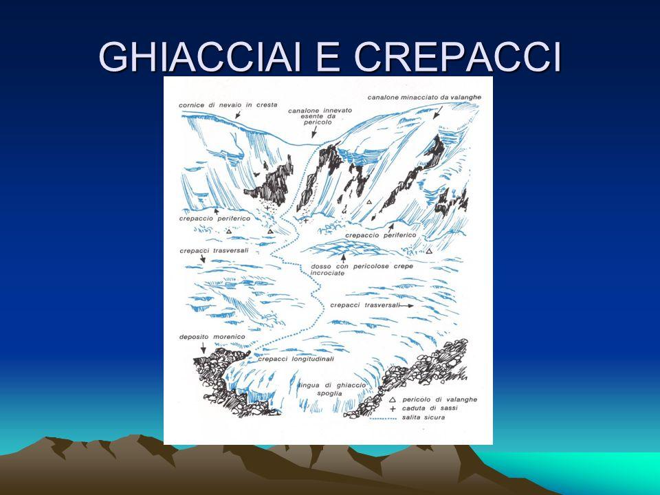 GHIACCIAI E CREPACCI