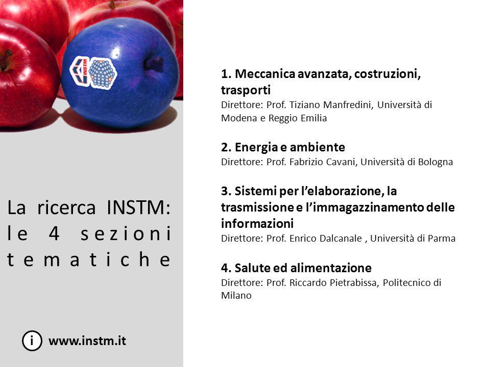 La ricerca INSTM: le 2 commissioni ad hoc i www.instm.it 1.