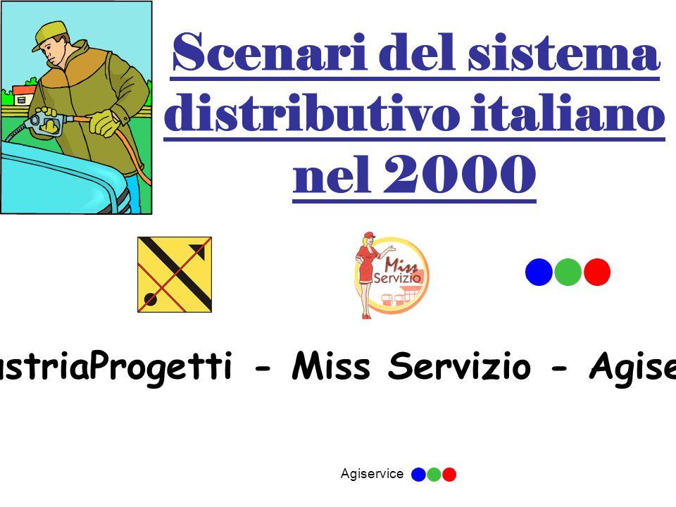 Agiservice Scenari del sistema distributivo italiano nel 2000 industriaProgetti - Miss Servizio - Agiservice
