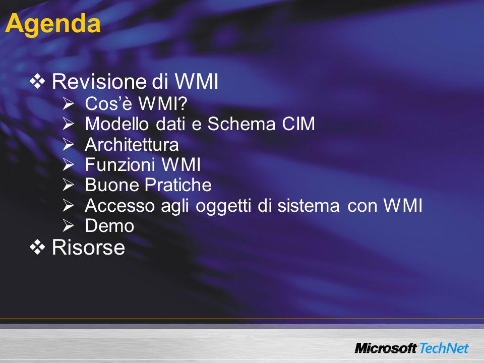 Cos'è WMI .