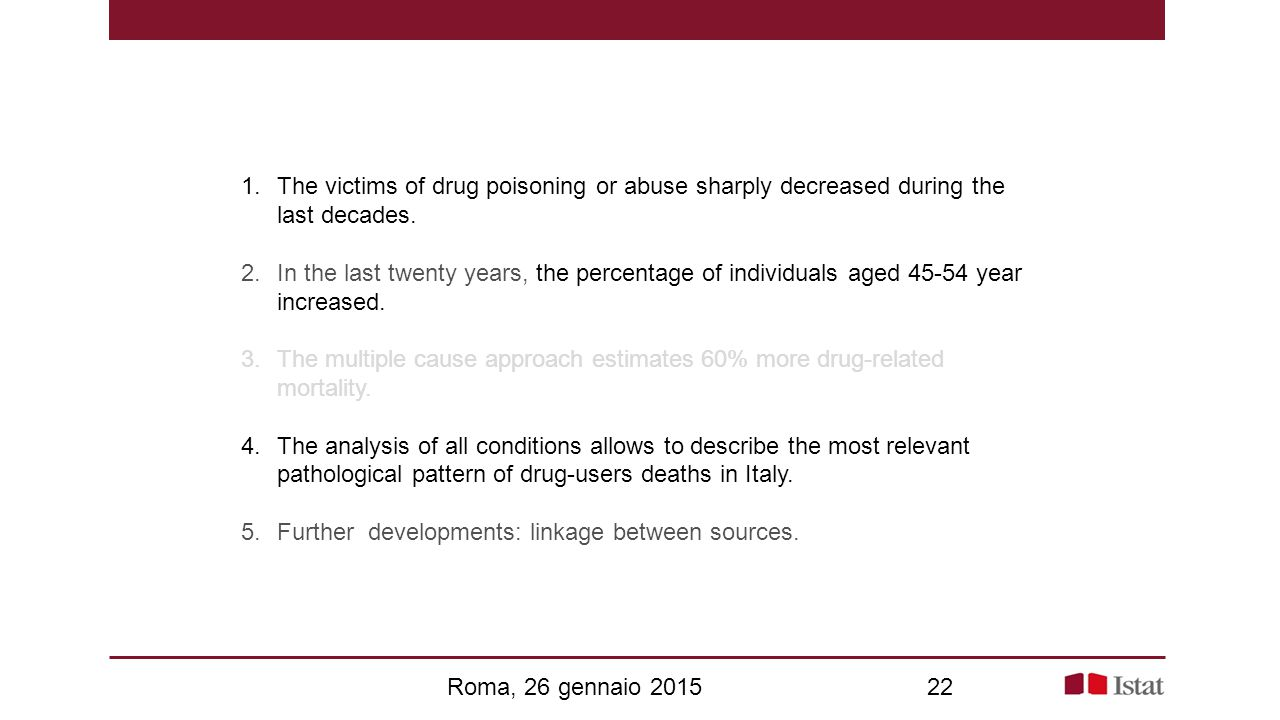 1.The victims of drug poisoning or abuse sharply decreased during the last decades.