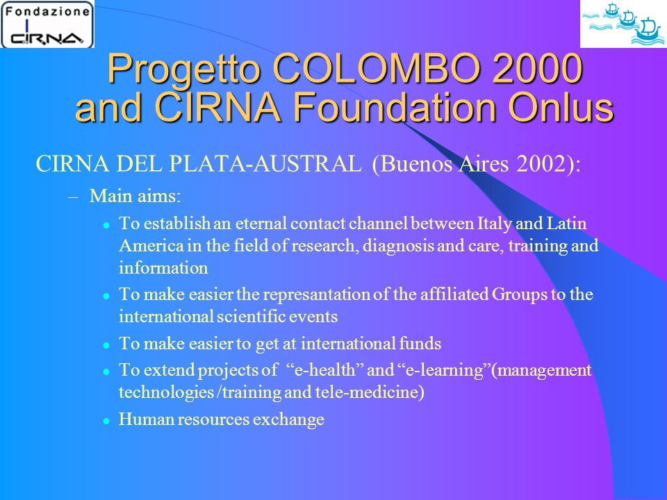 In the track of Progetto Colombo 2000 IHS Latin linguistic Subcommittee International headache classification 2004 2 nd edition: – Italophon (G.