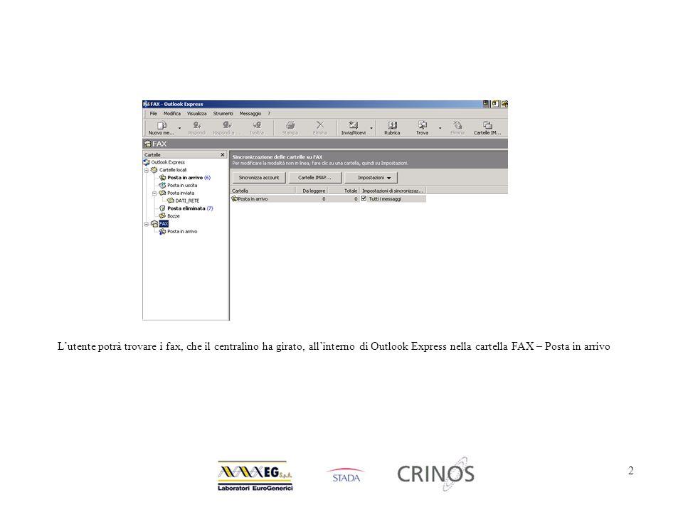 3 Per inviare un fax da qualsiasi applicazione, è sufficiente selezionare la stampante Hylafax e premere il tasto OK.