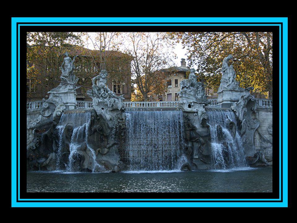 Fontana dei dodice mesi, Parque del Valentino