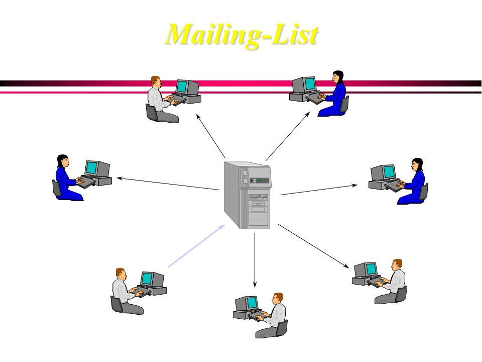 Mailing-ListMailing-List e-mail address 1 e-mail address 2 e-mail address 3 e-mail address 4 e-mail address 5..........