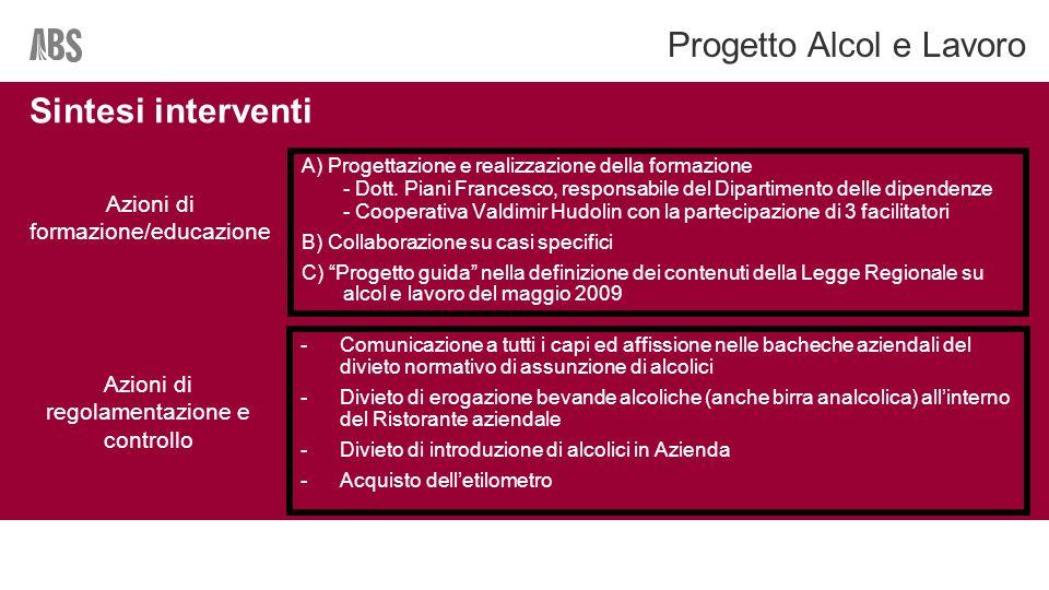 A) Progettazione e realizzazione della formazione - Dott.