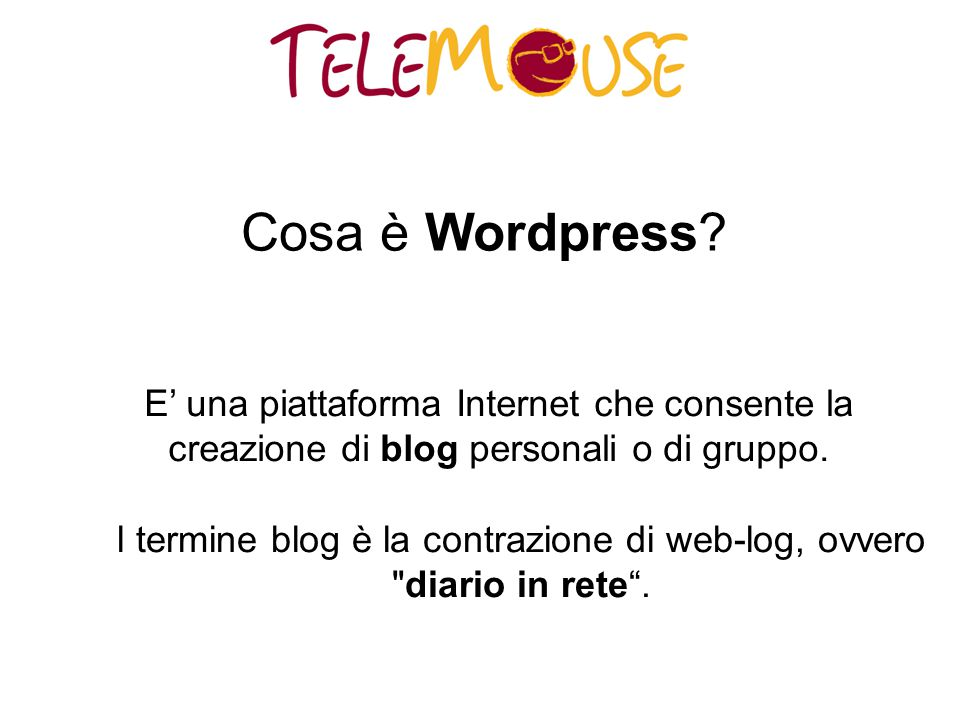 Cosa è Wordpress.