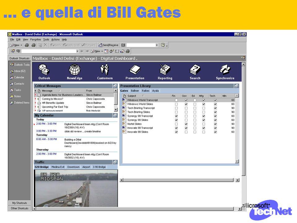 … e quella di Bill Gates