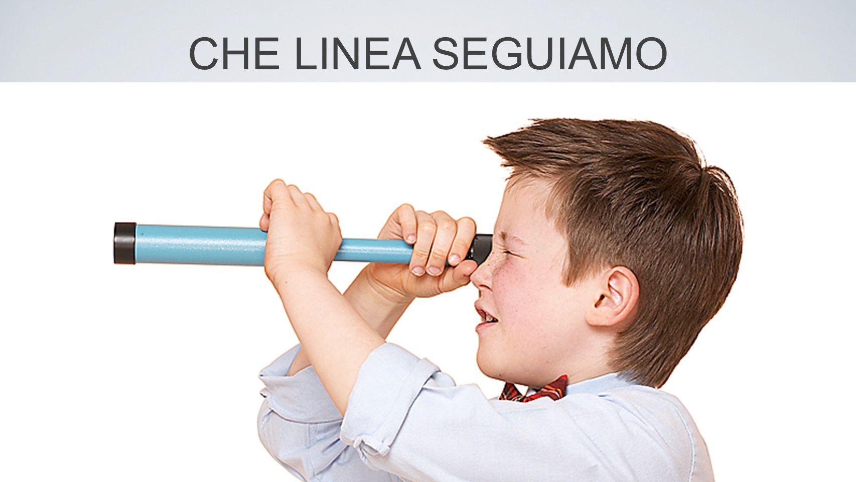 CHE LINEA SEGUIAMO