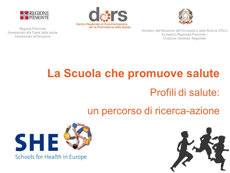 A.S.'14/'15 Rete Europea SHE ( Schools for Health in Europe).