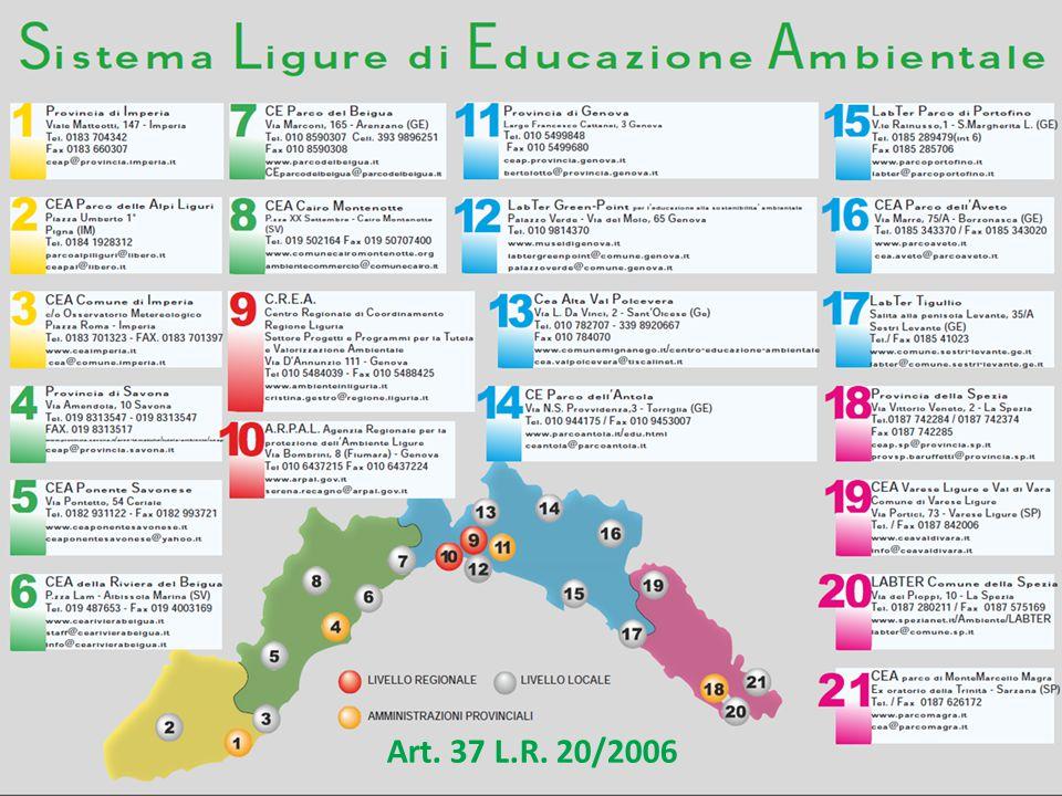 Art. 37 L.R. 20/2006