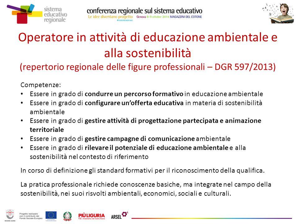 Programmazione triennale in materia di informazione ed educazione ambientale e alla sostenibilità Accordi di programma INFEA – MATTM (2002/2004 – 2007/2009) Art.