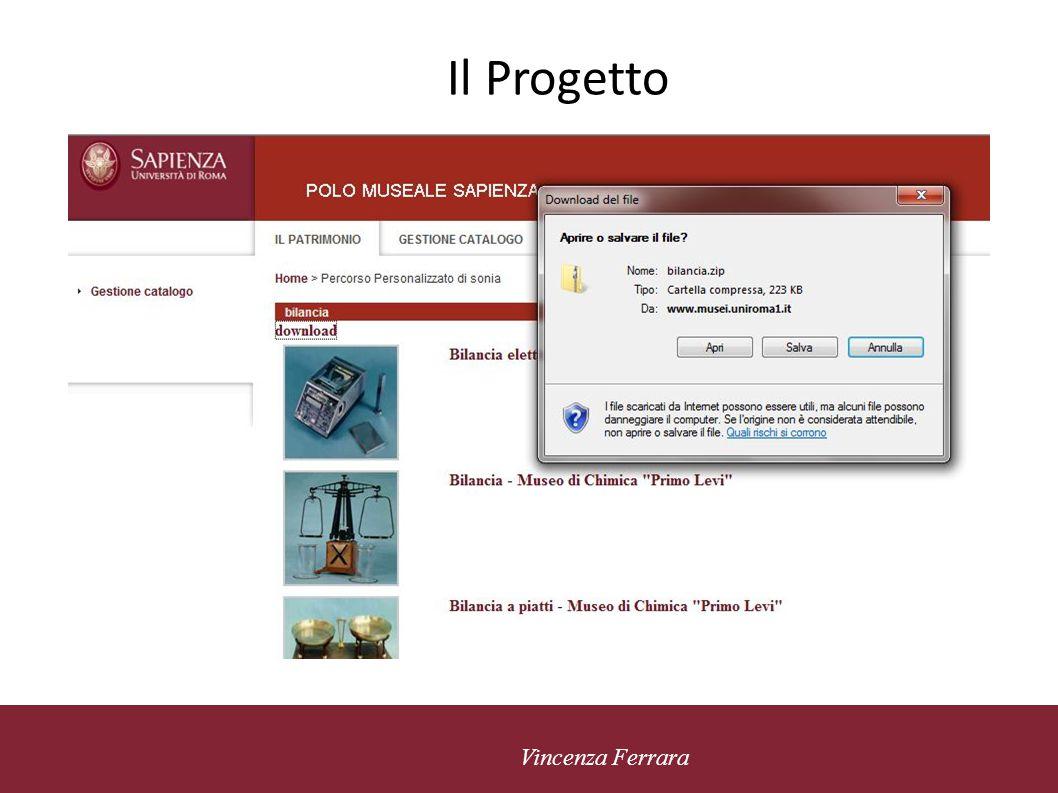 5 novembre 2010 Vincenza Ferrara Il Progetto CMS ASD